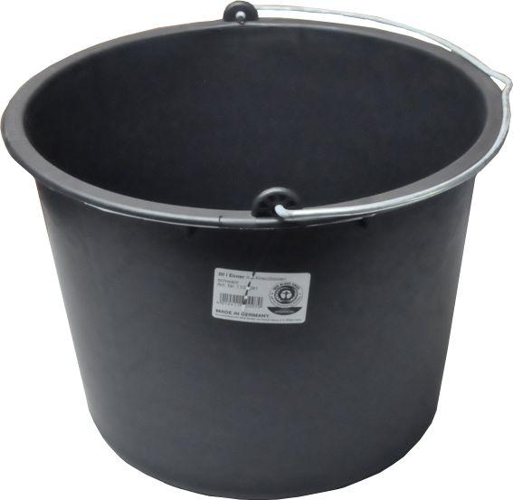 baueimer eimer 20 liter putzeimer m rteleimer wassereimer. Black Bedroom Furniture Sets. Home Design Ideas