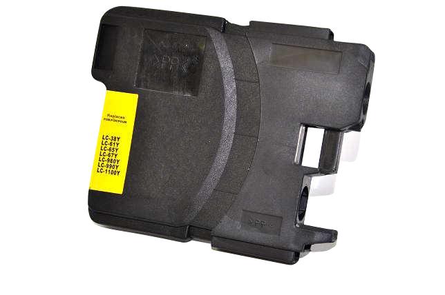 Tintenpatrone yellow kompatibel zu LC-1100Y - für MFC 490CW