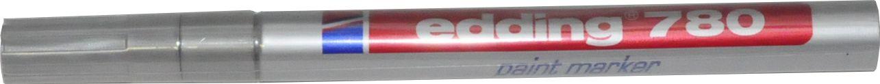 edding 780 paint marker silber 0,8mm Rundspitze Lackmarker