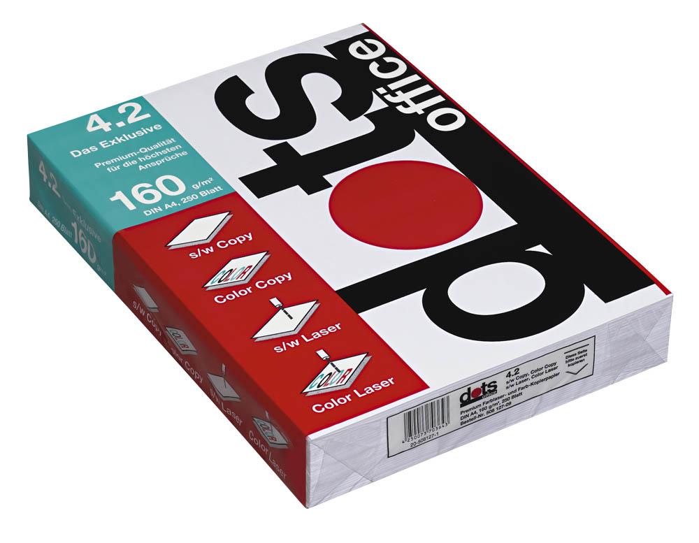 250 Blatt Premium-Kopierpapier 160g/qm DIN A4 hochweiß matt