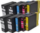 Kompatibles Tinten-SET ERSETZT Canon PGI-2500XL BK/C/M/Y (10er)