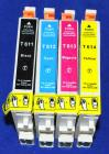 Kompatibles Tinten-SET ERSETZT Epson T0611 / T0612 / T0613 / T0614 BK/C/M/Y (4er